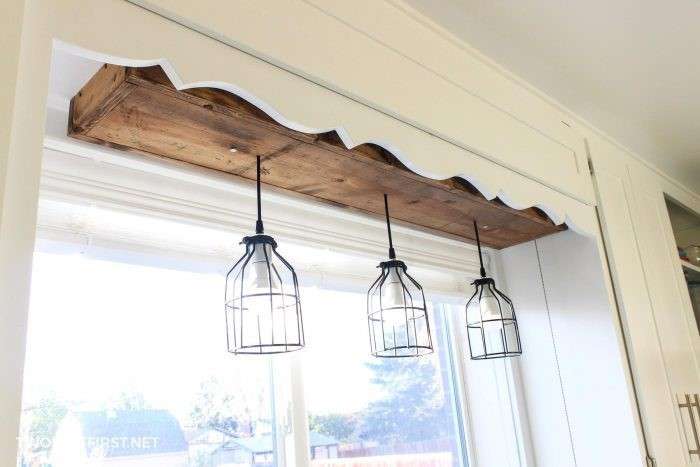 7. Over the Kitchen Sink Pendant Light via Simphome