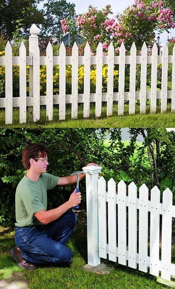 8. Build a Fence via Simphome