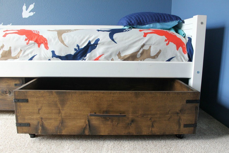 8. Under the Bed Storage from Scratch via Simphome