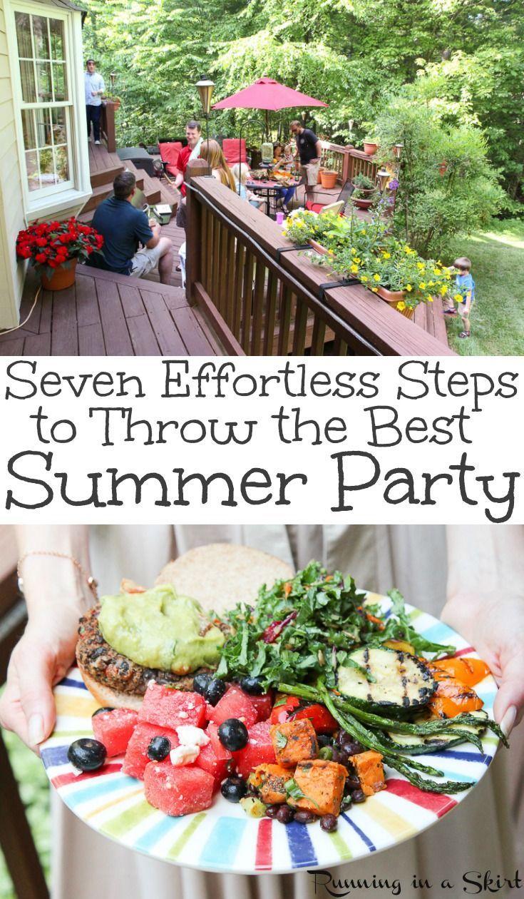 How to Craft Backyard Cookout Ideas via Simphome.com 1