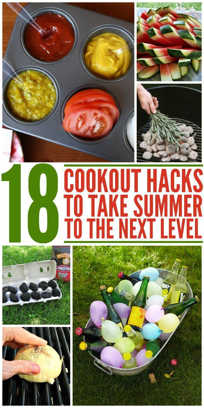 How to Craft Backyard Cookout Ideas via Simphome.com 2