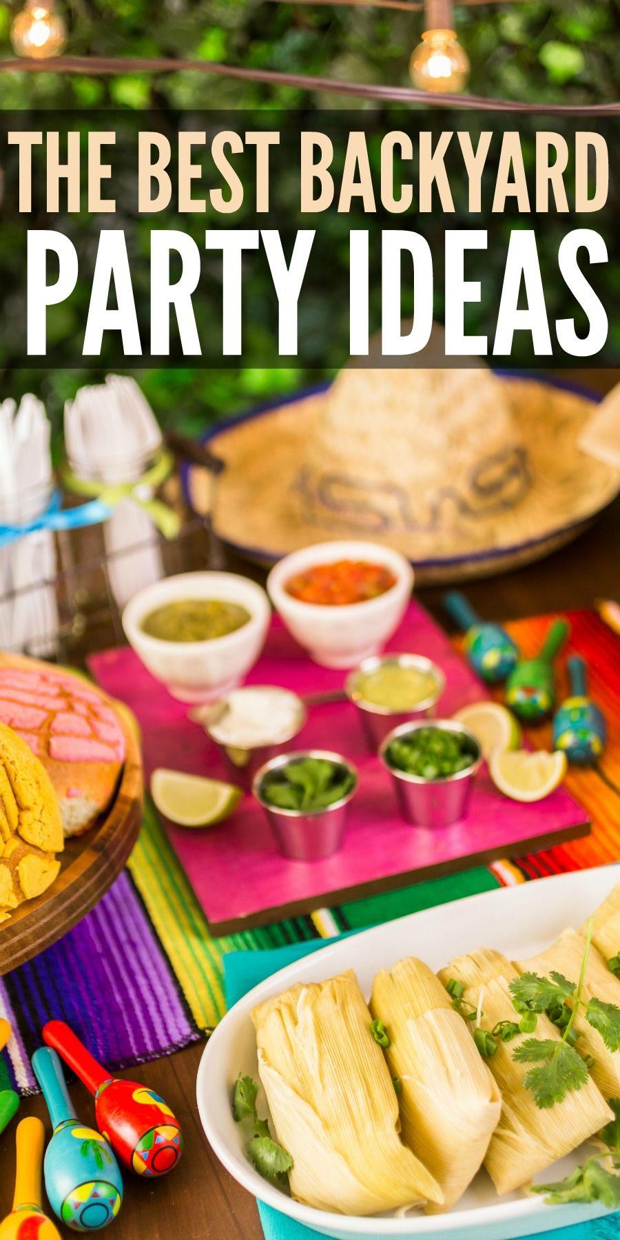 How to Craft Backyard Cookout Ideas via Simphome.com 3