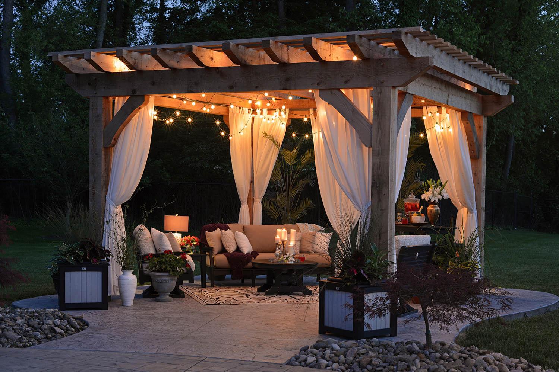 Simphome.com 10 pergola designs ideas better homes and gardens regarding backyard pergola ideas