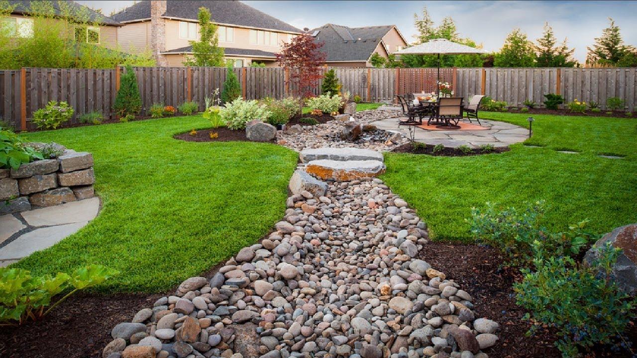 Simphome.com cool landscape design plans for backyard and front yard youtube in landscape design plans backyard