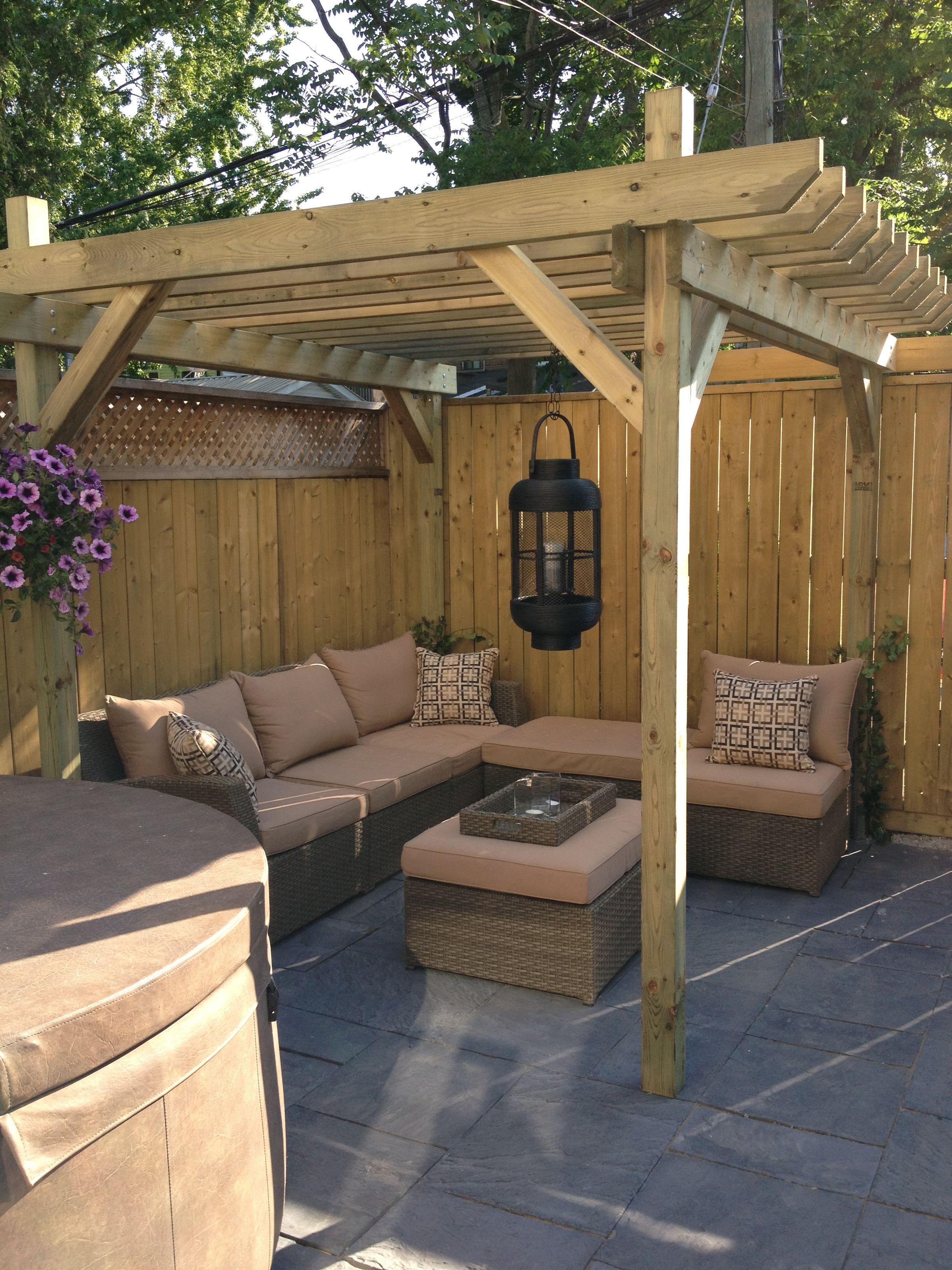Simphome.com dream pergola plans domik v derevne cozy backyard backyard pertaining to backyard pergola ideas
