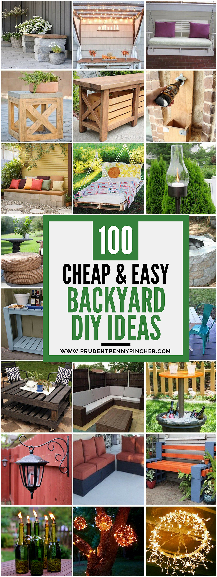 cheap and easy diy backyard ideas prudent penny pincher diy regarding 12 clever concepts of how to make diy backyard landscaping via Simphome.com