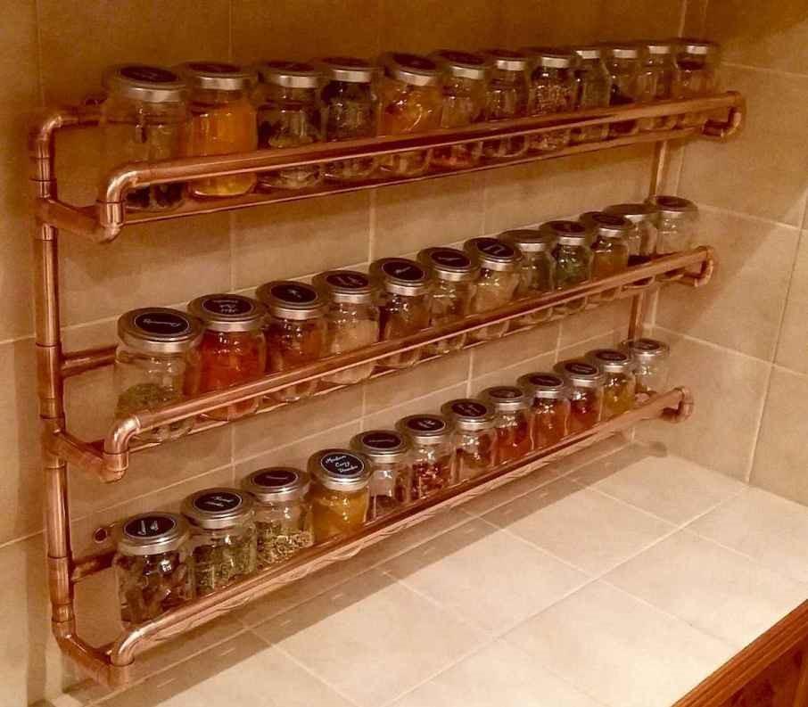 1. SIMPHOME.COM Copper Spice Rack