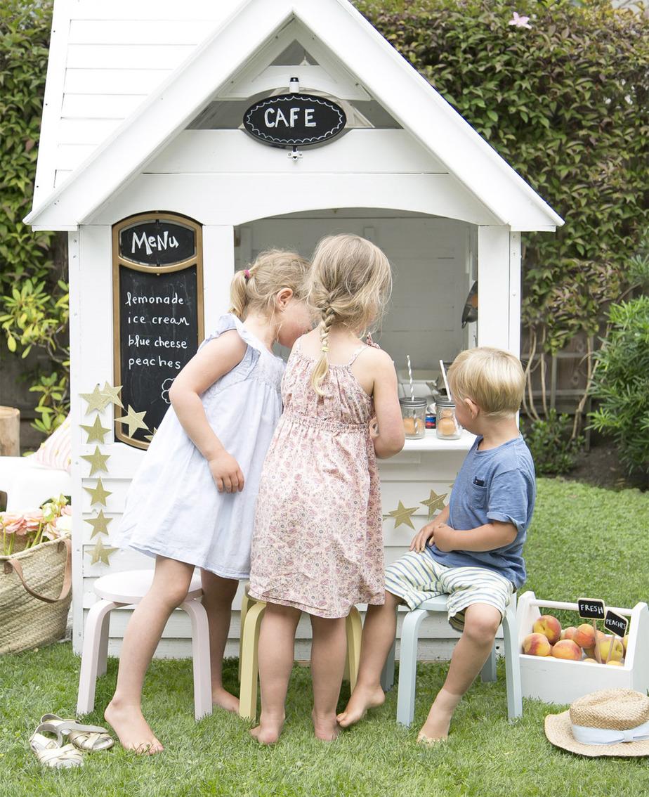 1.How To scandi makeover of costco playhouse via Simphome.com With Models