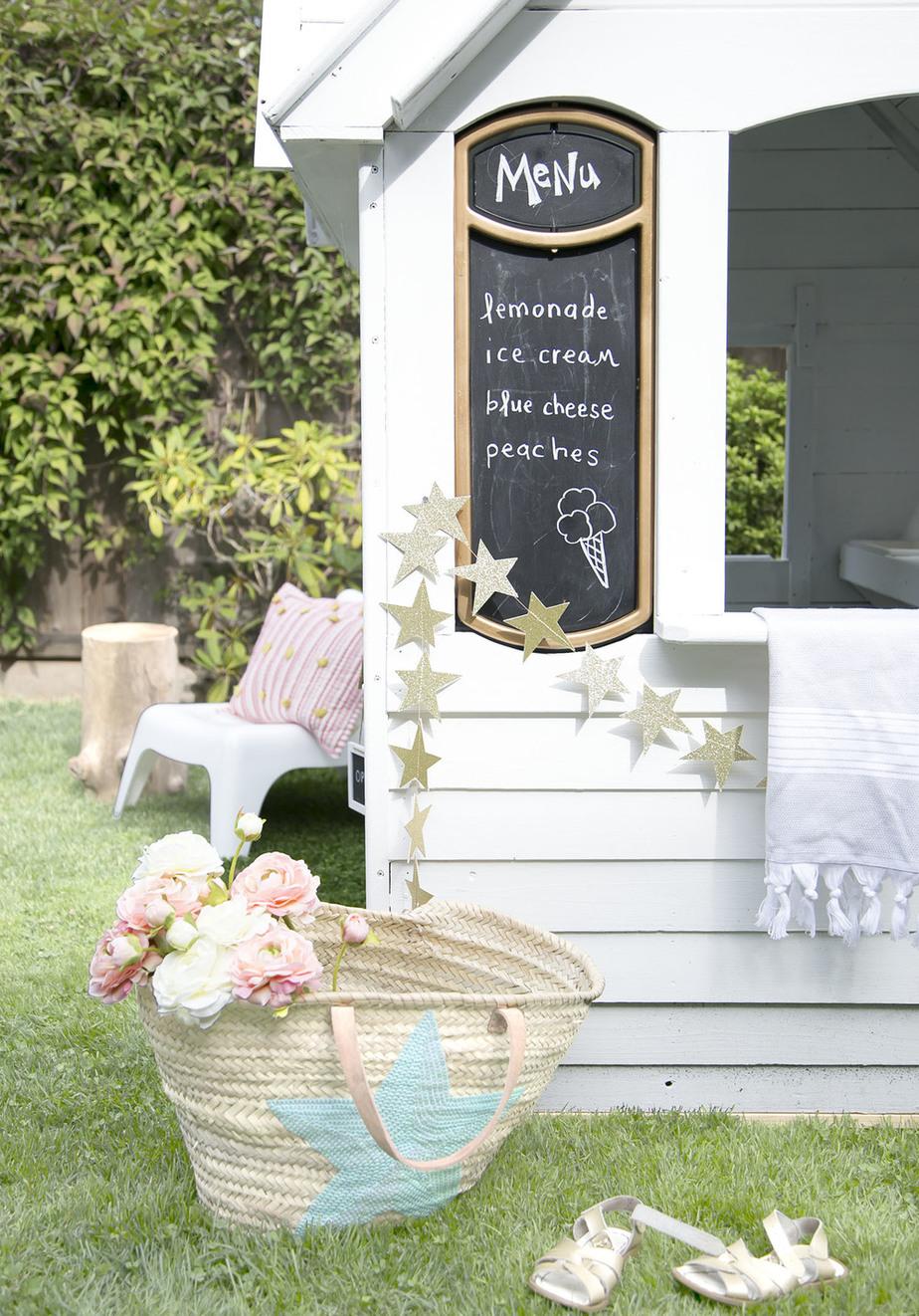 1.How To scandi makeover of costco playhouse via Simphome.com Zoom Menu