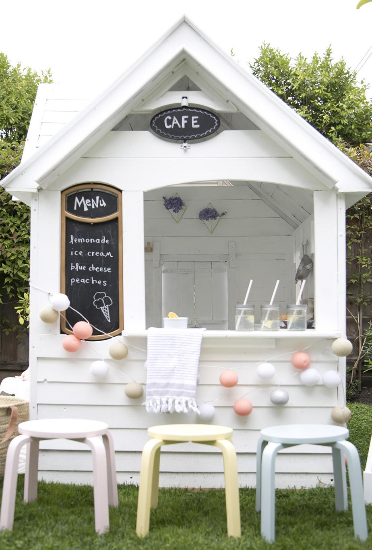 1.How To scandi makeover of costco playhouse via Simphome.com