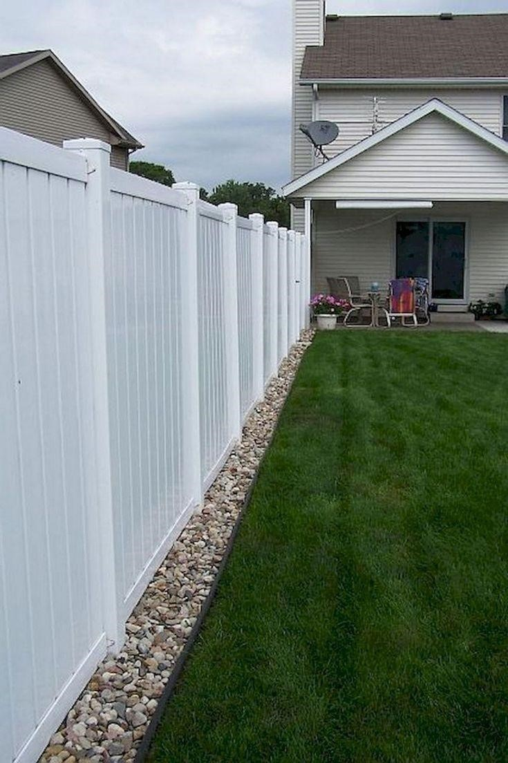 15+ Smart Concepts How to Make Backyard Privacy ... on Backyard Fence Landscaping Ideas id=88853