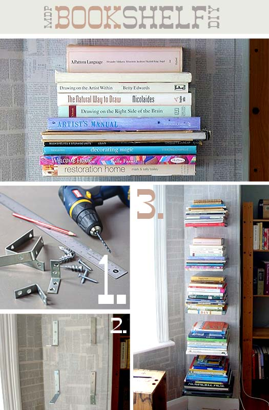 10. SIMPHOME.COM MDP DIY BooktoShelf Mount1