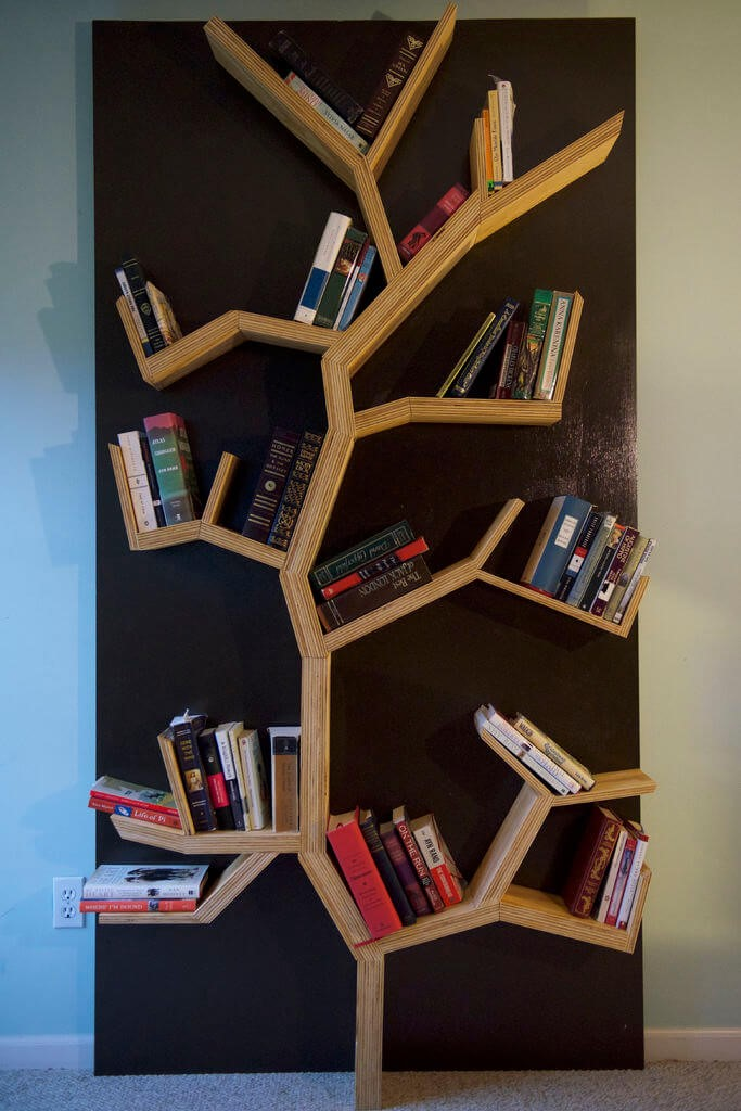 1.SIMPHOME.COM Tree Bookshelves