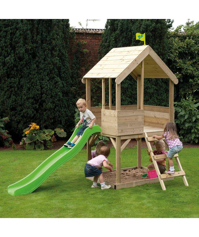 1.Simple Wooden Clubhouse via SIMPHOME.COM .