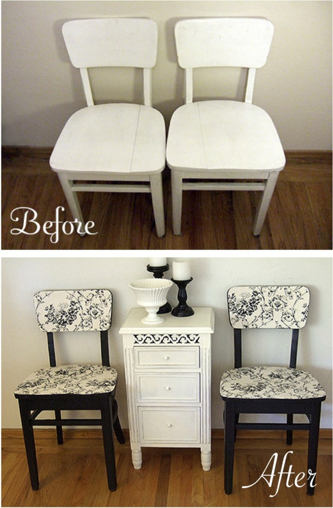 10. SIMPHOME.COM Give Your Old Chairs a Facelift with Paint