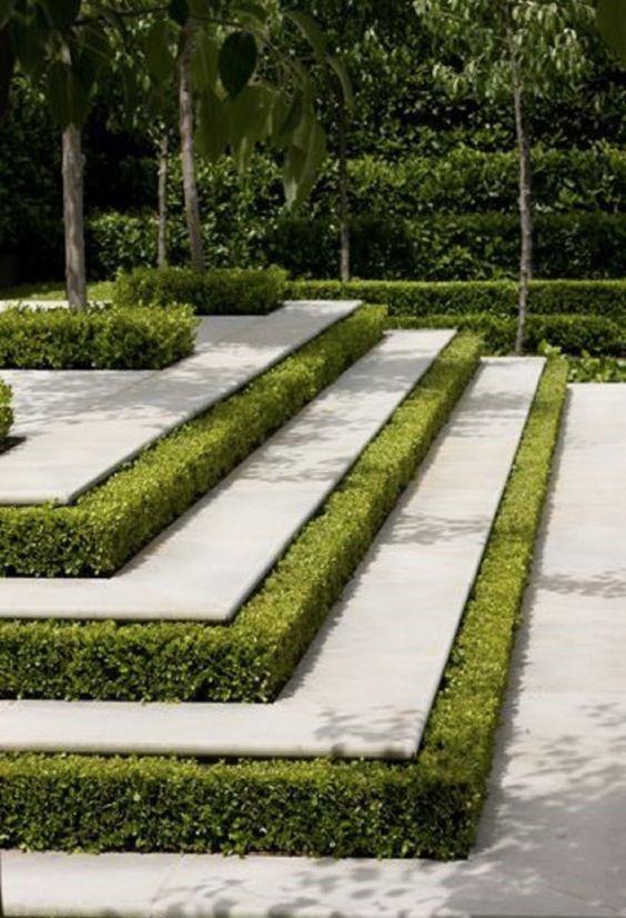 10. Use a Simple Terrace System for Contoured Land via SIMPHOME.COM
