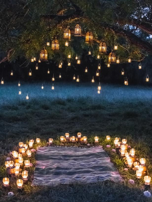 10.Set the Light for the Romantic Ambiance Night setting via Simphome.com
