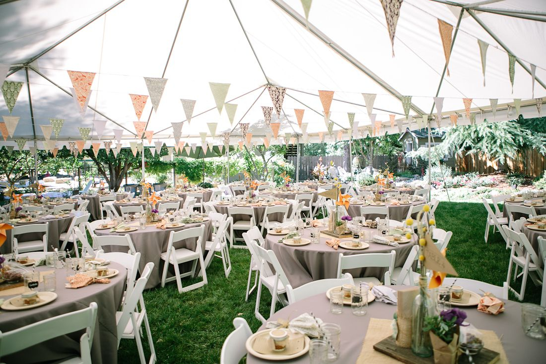 11.SIMPHOME.COM diy backyard bbq wedding reception future wedding