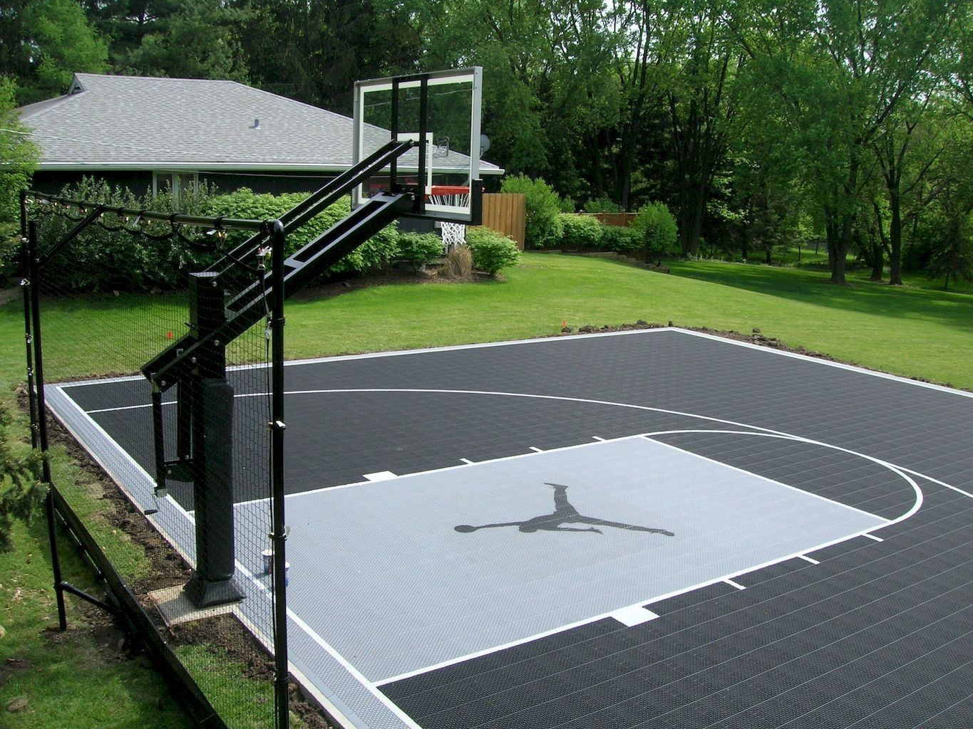 11.SIMPHOME.COM nice sport court backyard design ideas garden pinterest