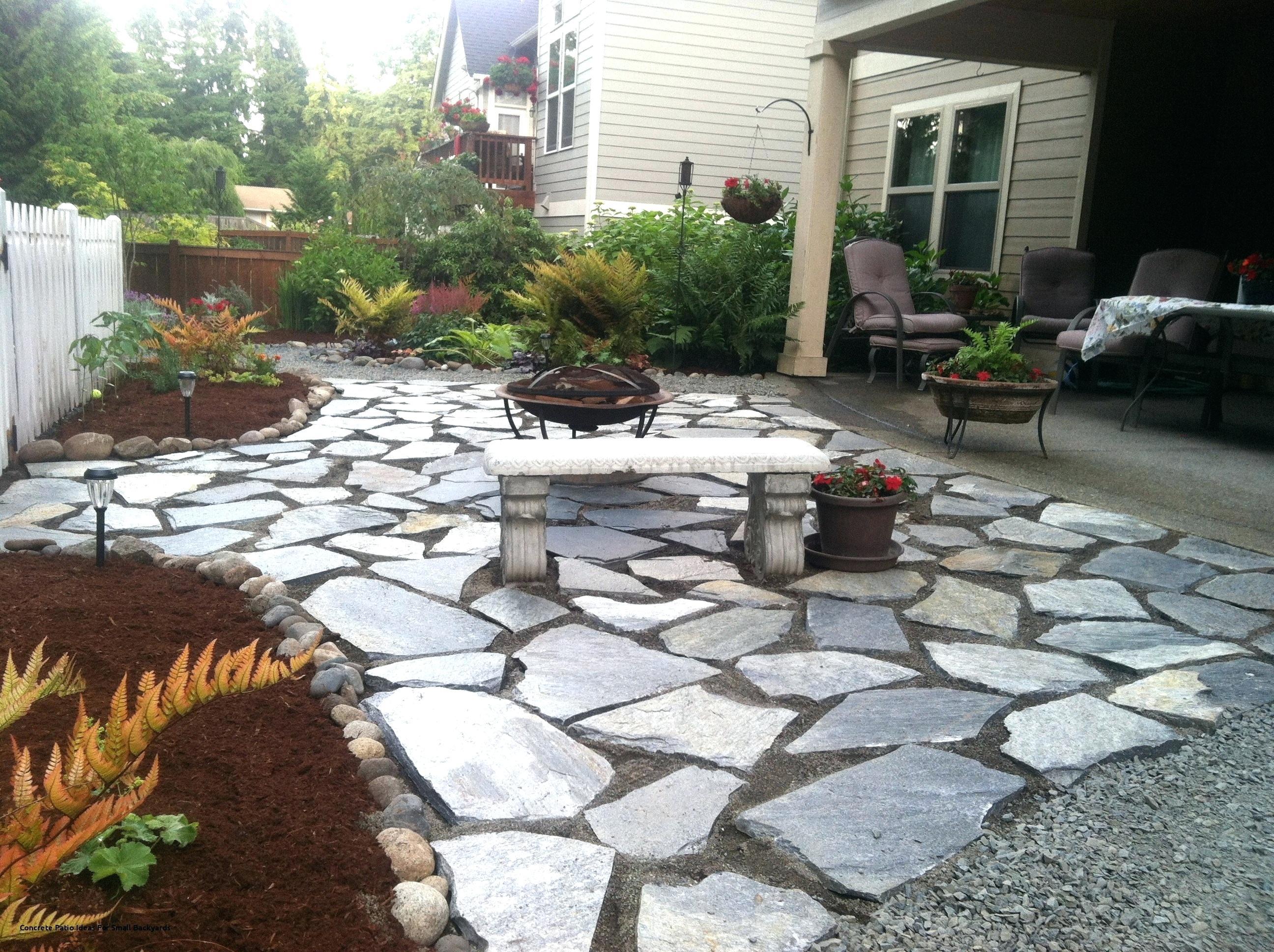 12.1.SIMPHOME.COM concrete patio ideas for small backyards cement