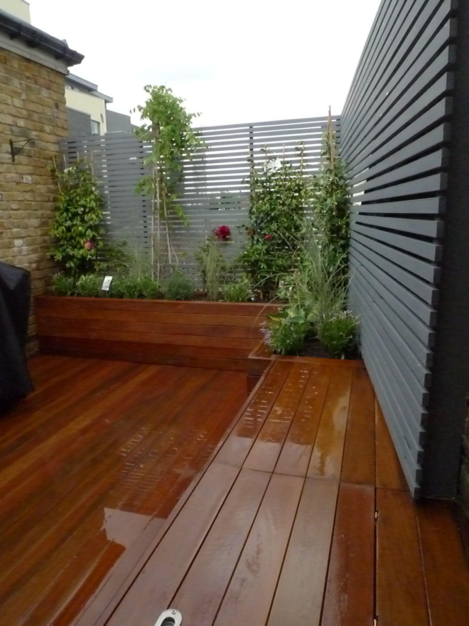 13.SIMPHOME.COM garden screening ideas for creating a garden privacy screen