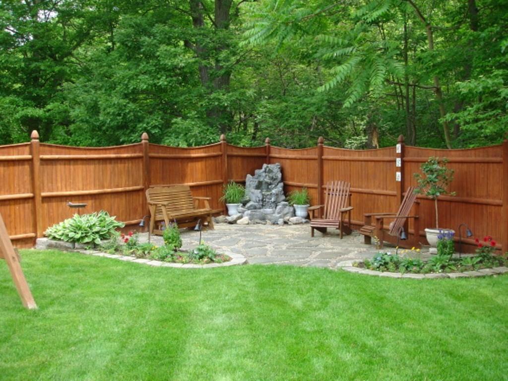 14.SIMPHOME.COM backyard patio ideas diy decor completed with 10 ideas how to makeover cheap backyard deck ideas