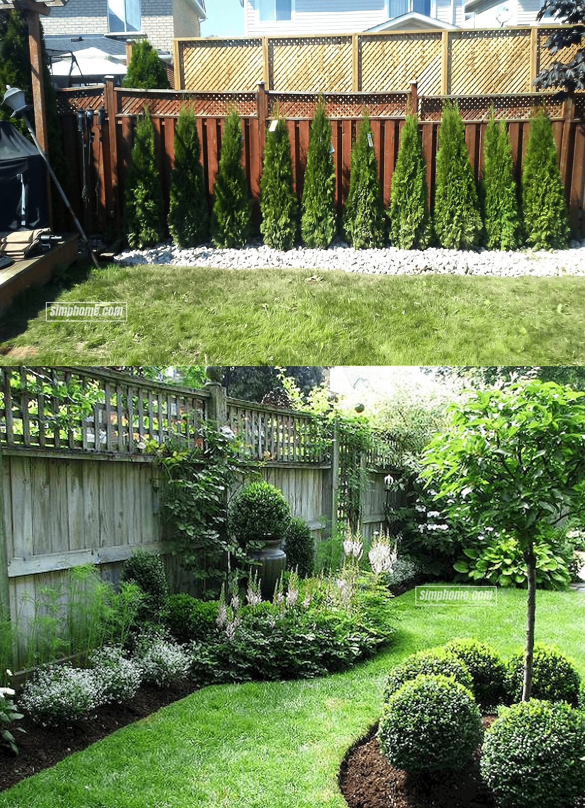 16.17.SIMPHOME.COM pin ardelle gotcher on decor outdoor and backyard privacy landscaping trees and landscape
