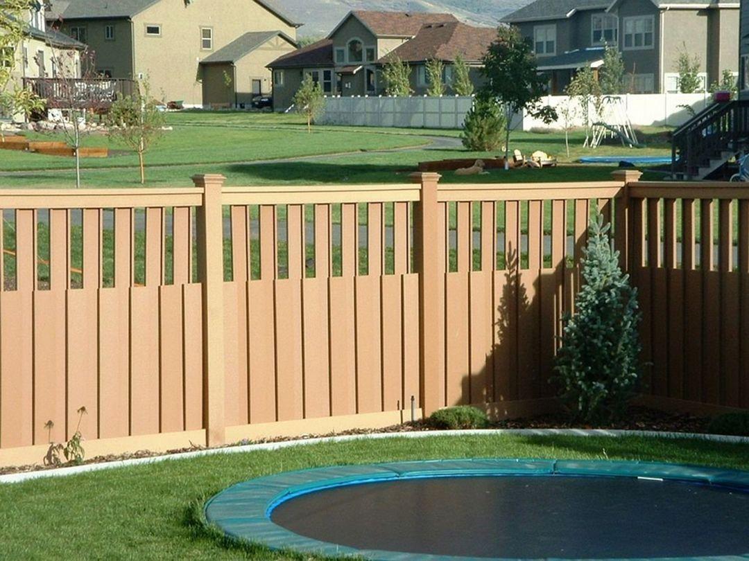16.SIMPHOME.COM chic wood fence ideas for backyard decor
