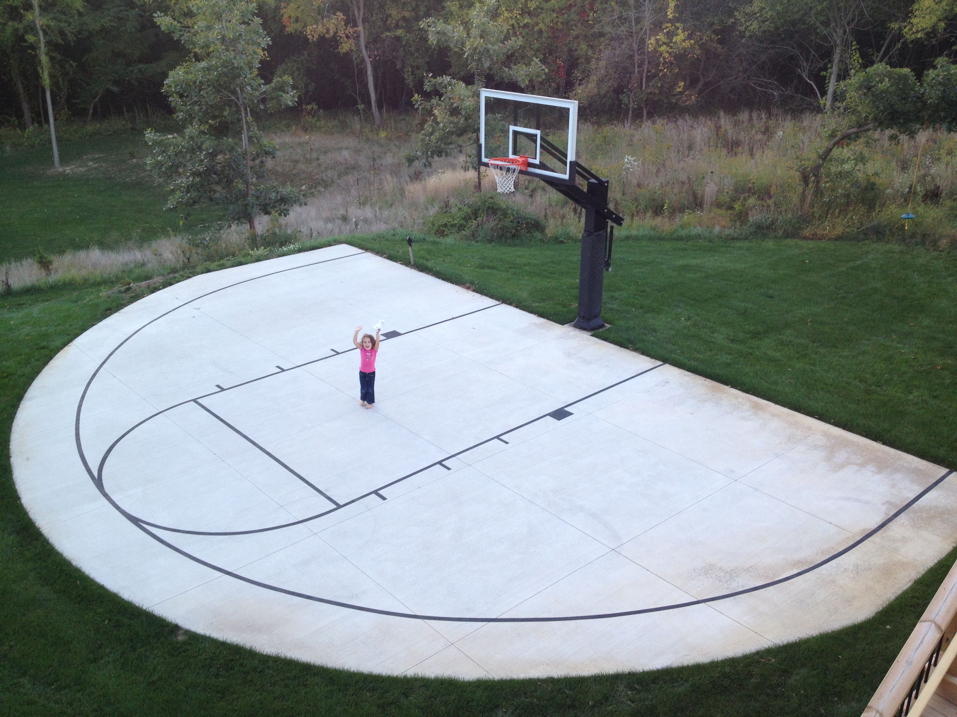 17.SIMPHOME.COM backyard basketball court ideas indoor outdoor courts elizabeth erin