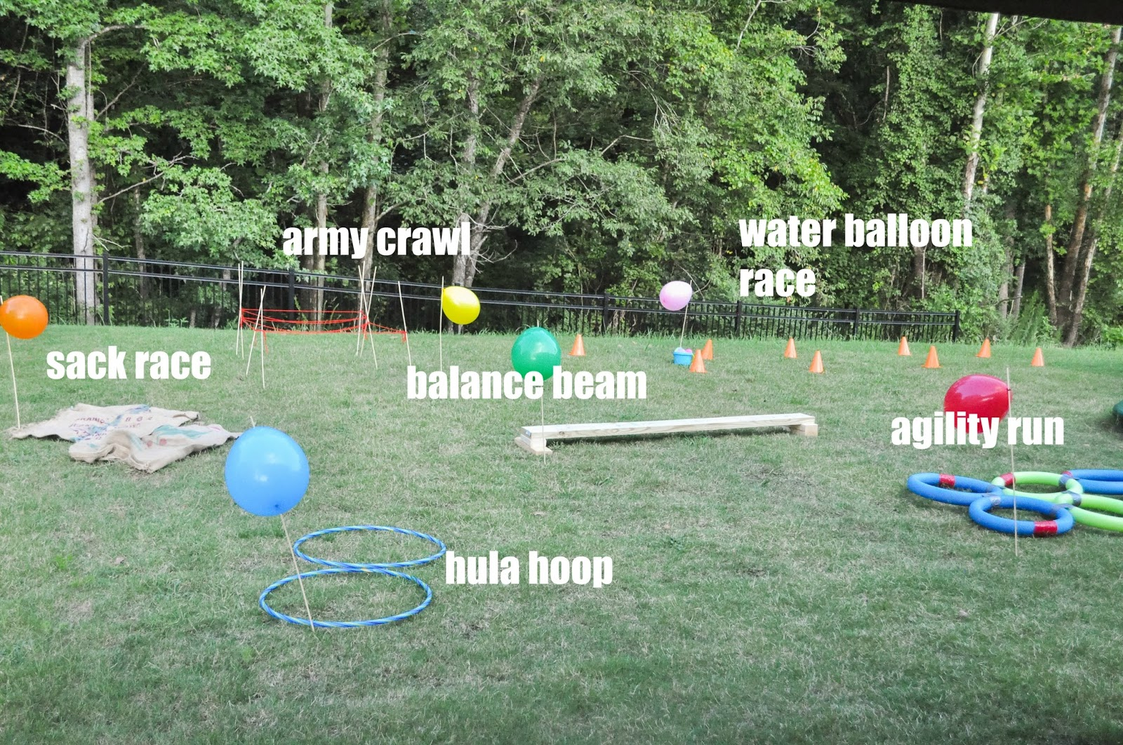 18.SIMPHOME.COM how to create a backyard obstacle course for your kids pretty real