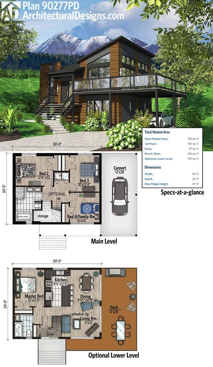 18.SIMPHOME.COM images of 4 bedroom modern house plans for house plan cottage