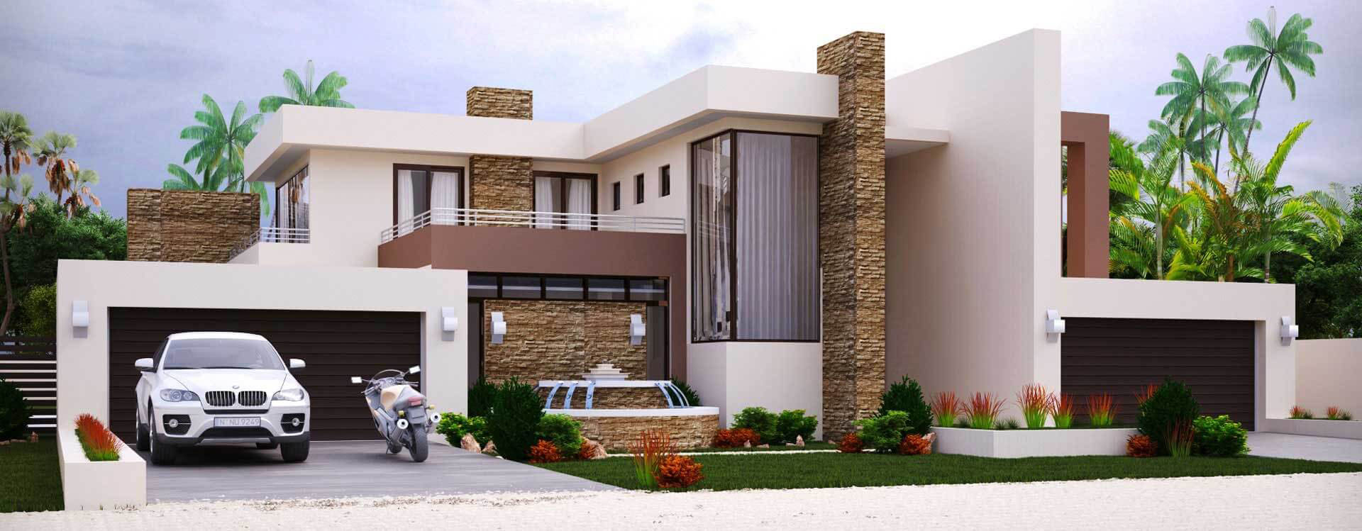 19.SIMPHOME.COM 4 bedroom house plan for sale south african designs