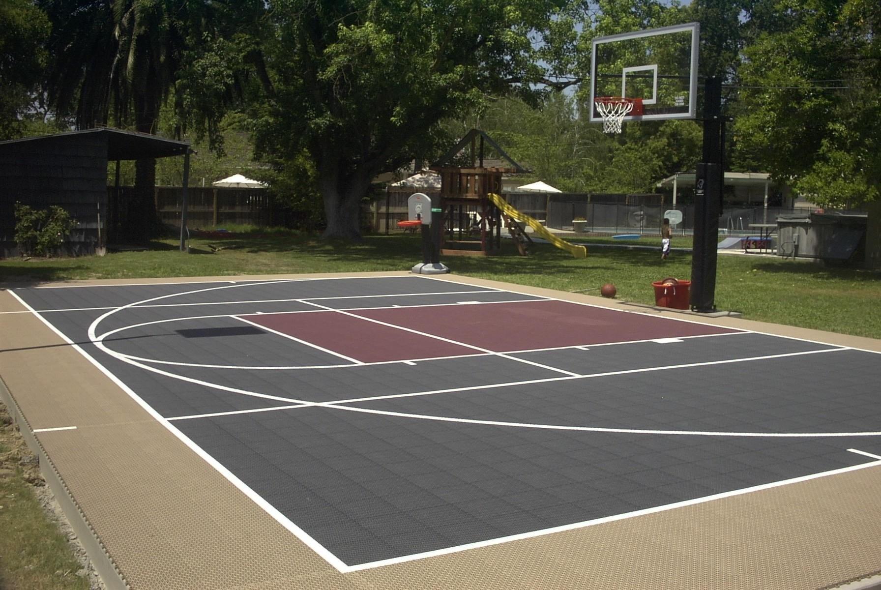 19.SIMPHOME.COM backyard basketball court 1000 43 ideas about backyard basketball