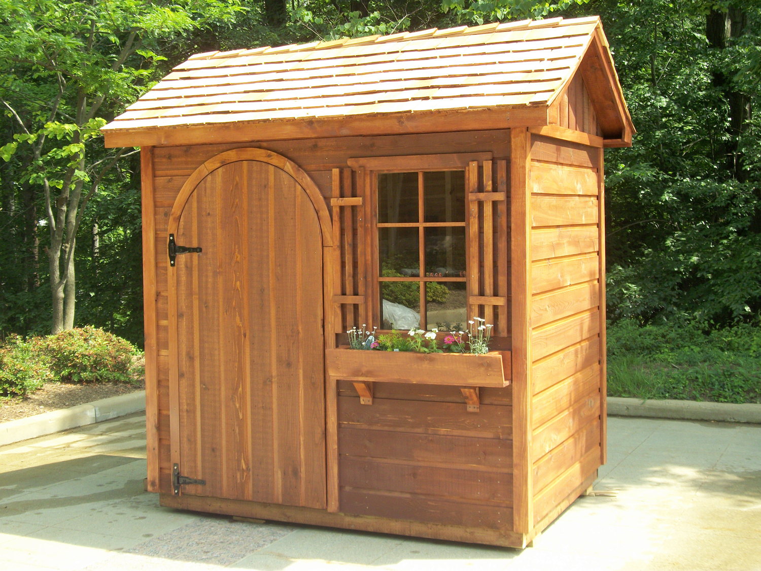 19.SIMPHOME.COM small wooden garden sheds shed fans