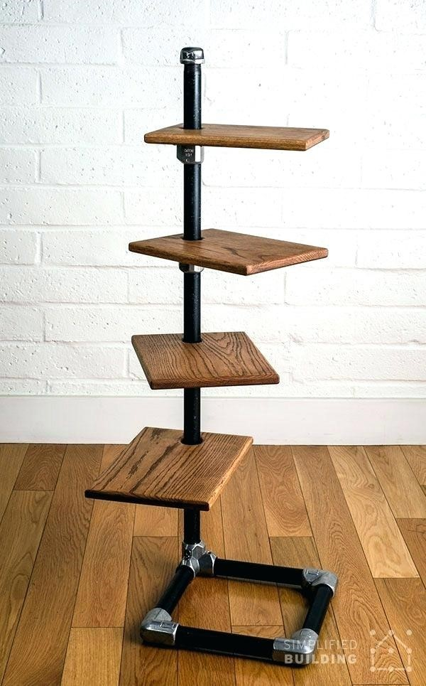 2. SIMPHOME.COM Unique Freestanding Bookshelves