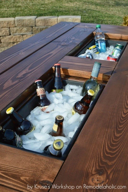2.SIMPHOME.COM A Project Patio Table with Built in Ice Boxes