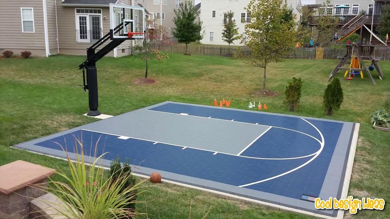 20.SIMPHOME.COM backyard basketball courts