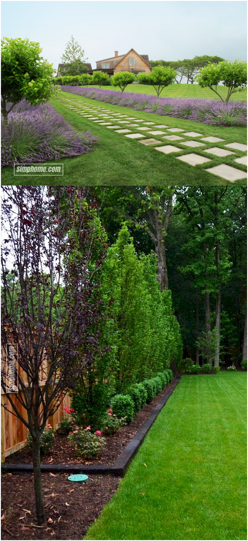 20.SIMPHOME.COM beautiful landscaping ideas and backyard privacy fence landscaping ideas on a budget