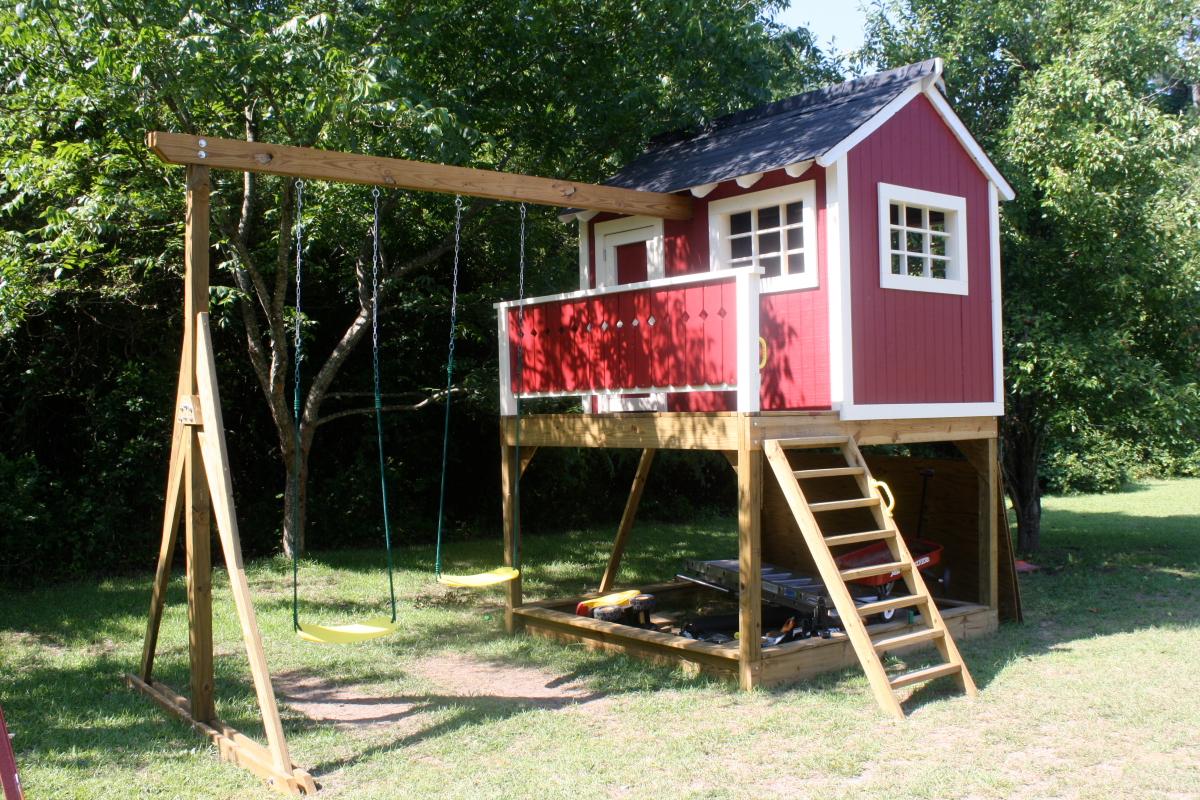21.SIMPHOME.COM build backyard clubhouse the latest home decor ideas