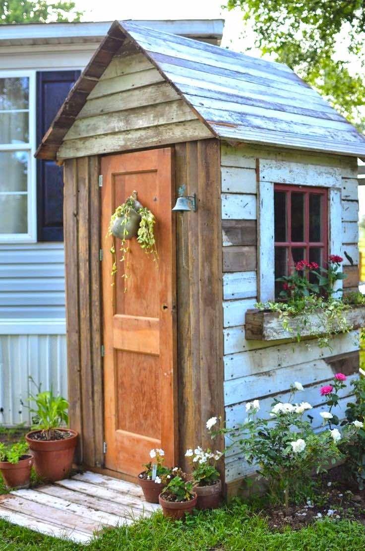 21.SIMPHOME.COM how to diy garden storage sheds diy outdoors small backyard