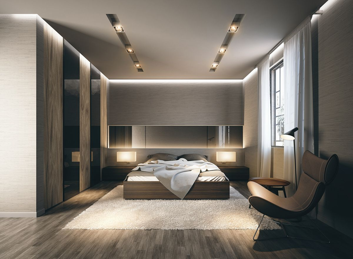 17 Ideas How To Makeover Craft Modern Style Bedroom Simphome