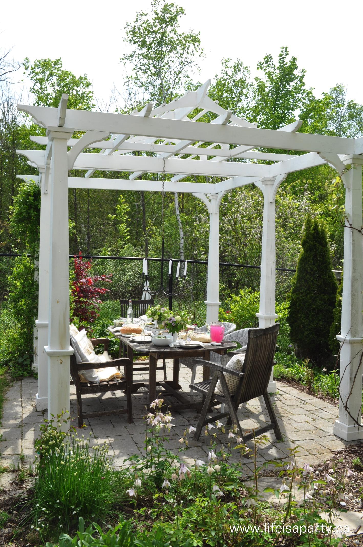 22.SIMPHOME.COM A summer backyard picnic