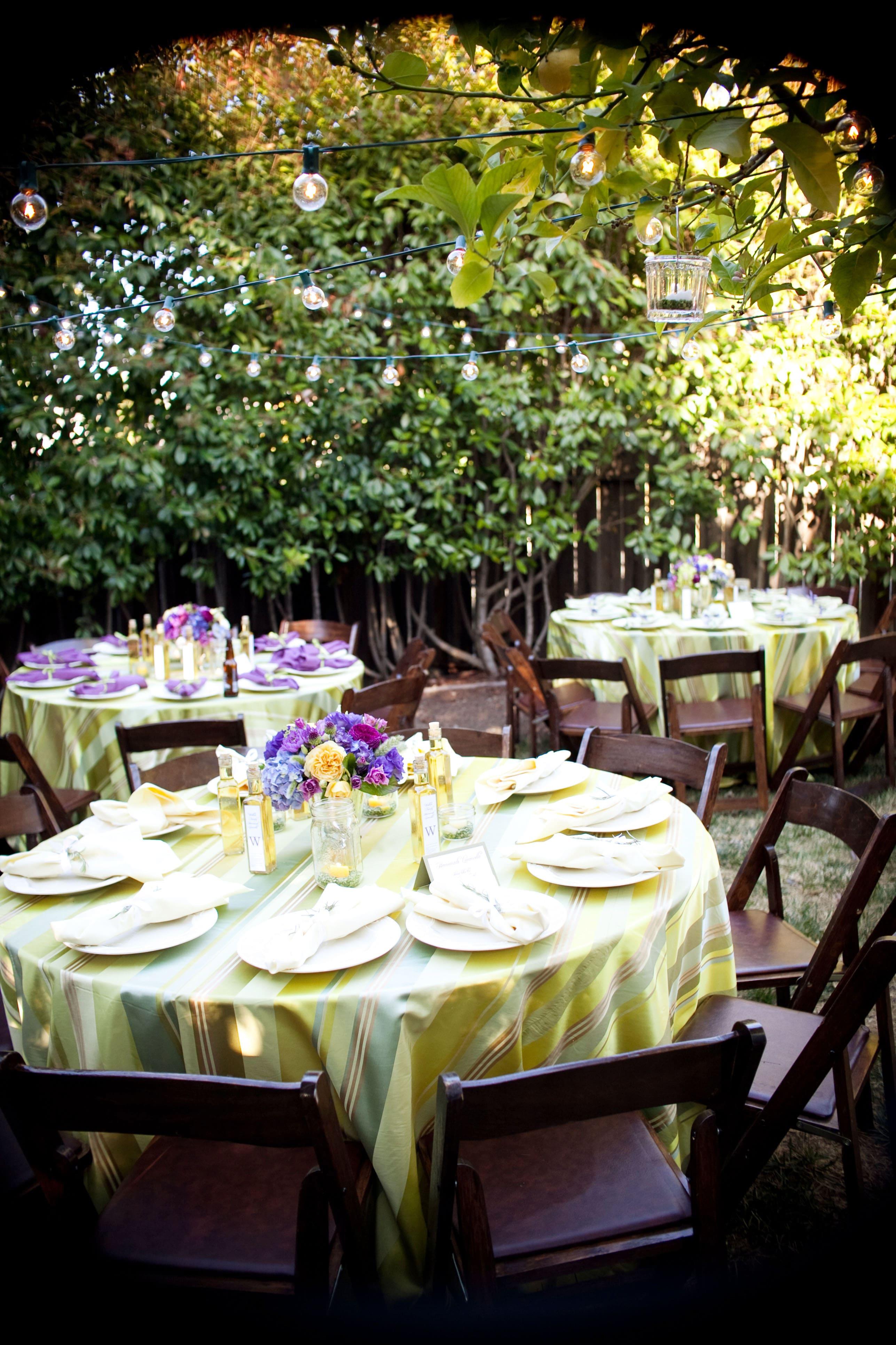 22.SIMPHOME.COM backyard bbq wedding reception outdoor furniture design ideas