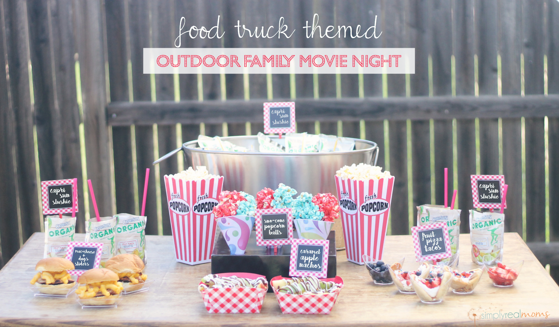 24.SIMPHOME.COM the ultimate outdoor movie night party simply real moms and how to improve backyard movie