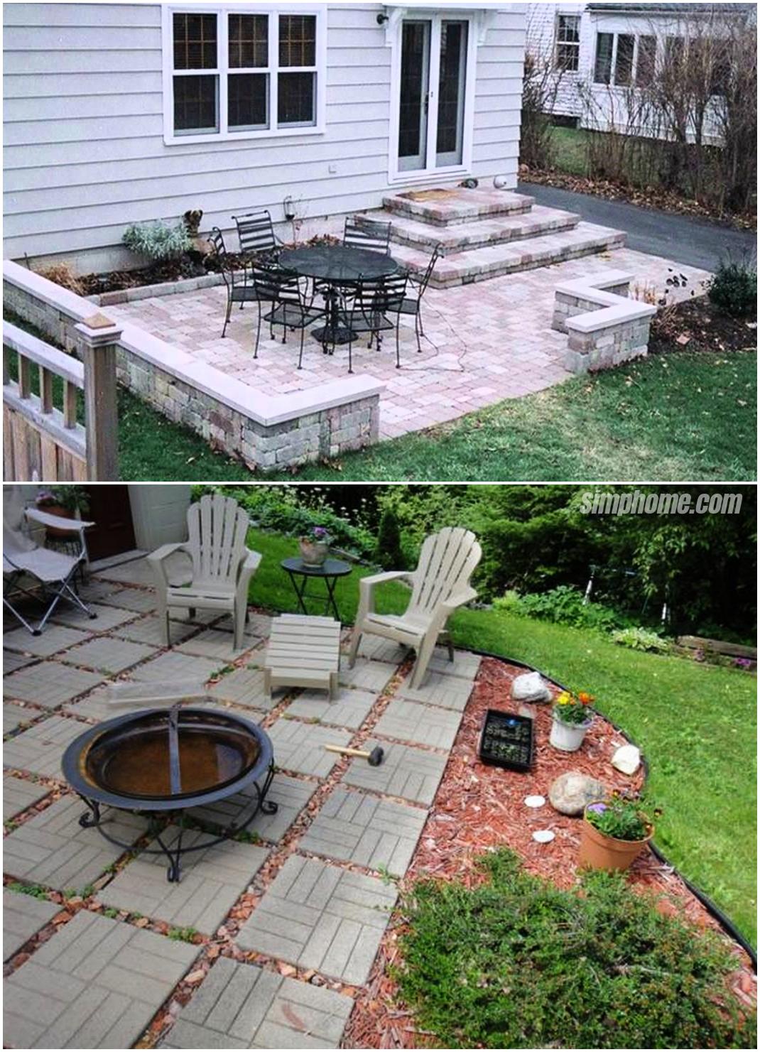 25.SIMPHOME.COM Genius Ideas How to Make Concrete Patio Ideas for Small Backyards