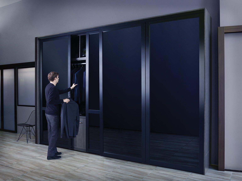 26.SIMPHOME.COM modern glass closet doors with sliding door