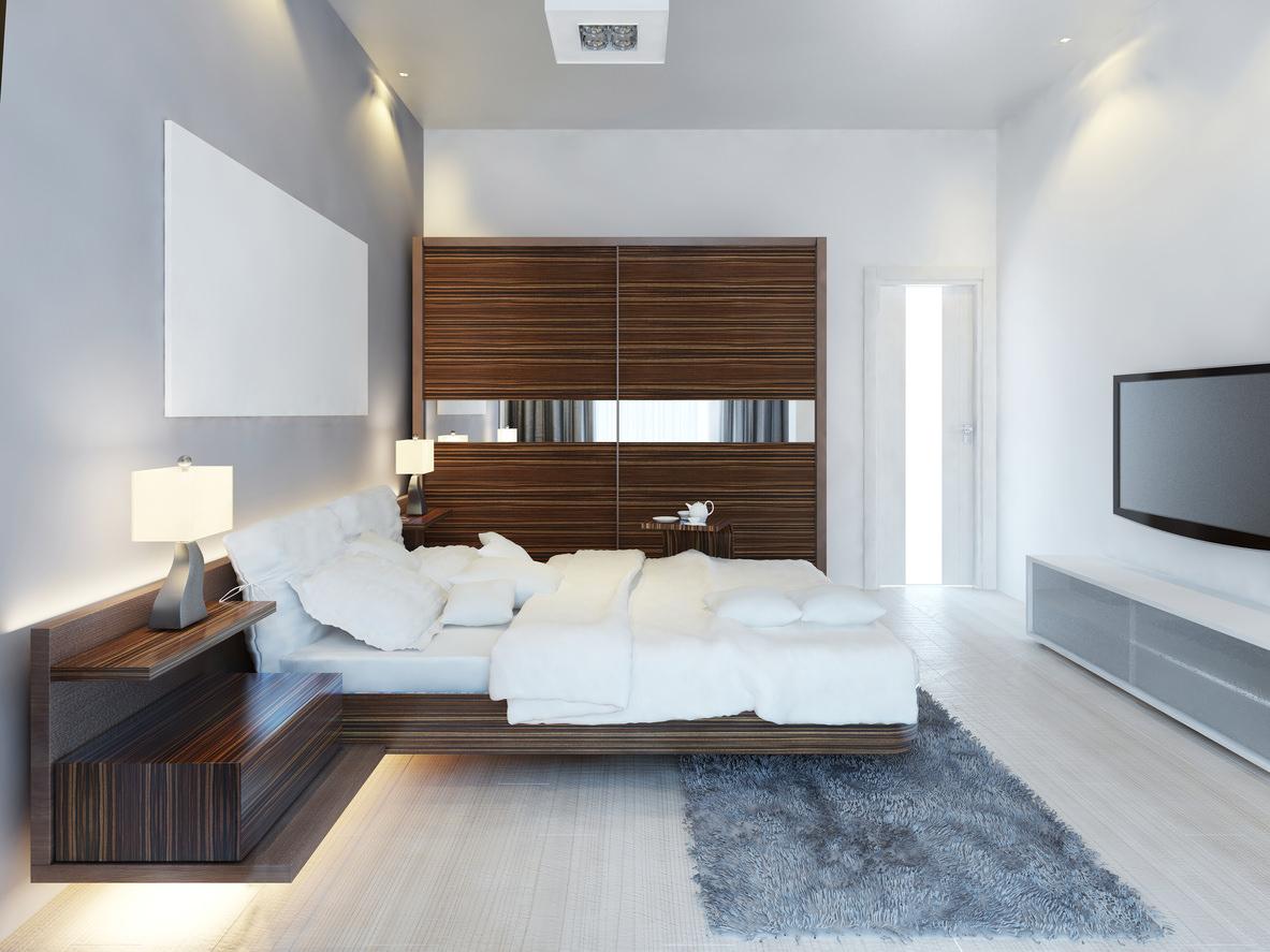 28.SIMPHOME.COM A sleek modern master bedroom ideas 2019 photos inside