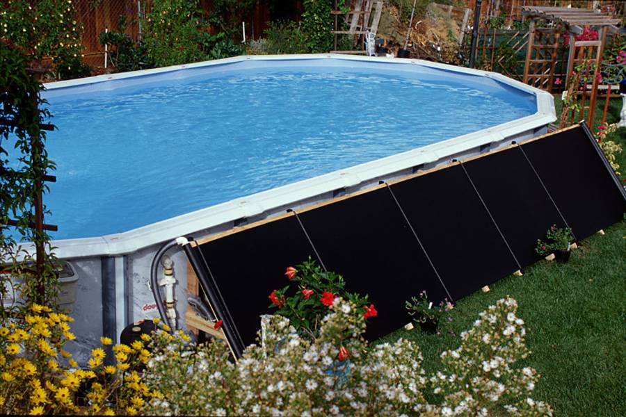 3.Add Solar Heater in your above ground pool via simphome.com