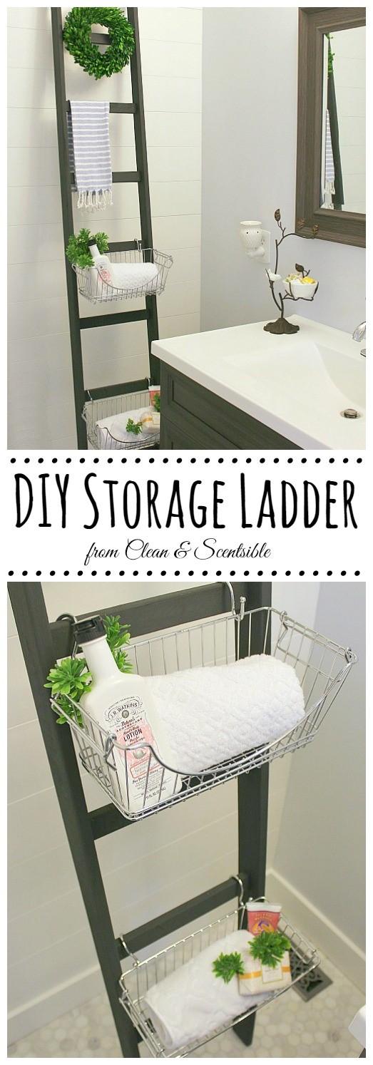 4. Storage Ladder via SIMPHOME.COM