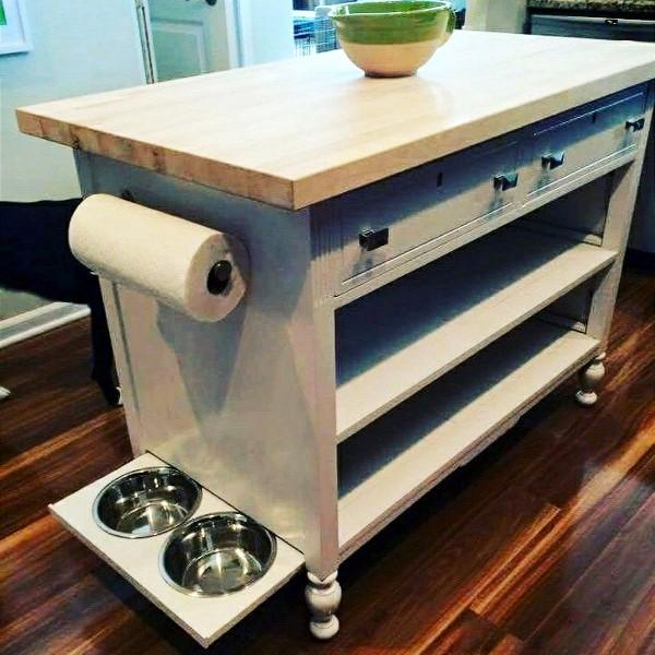 5. SIMPHOME.COM Dresser into a Kitchen Island